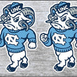 North Carolina Tar Heels UNC Set of 2 | Oval | Decal | Sticker | Vinyl