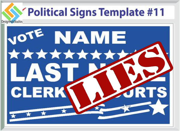 Sign Enhancement Stickers | Fake | Fact | Void | WTF | Truth | Guilty  | Decal | Sticker | Vinyl
