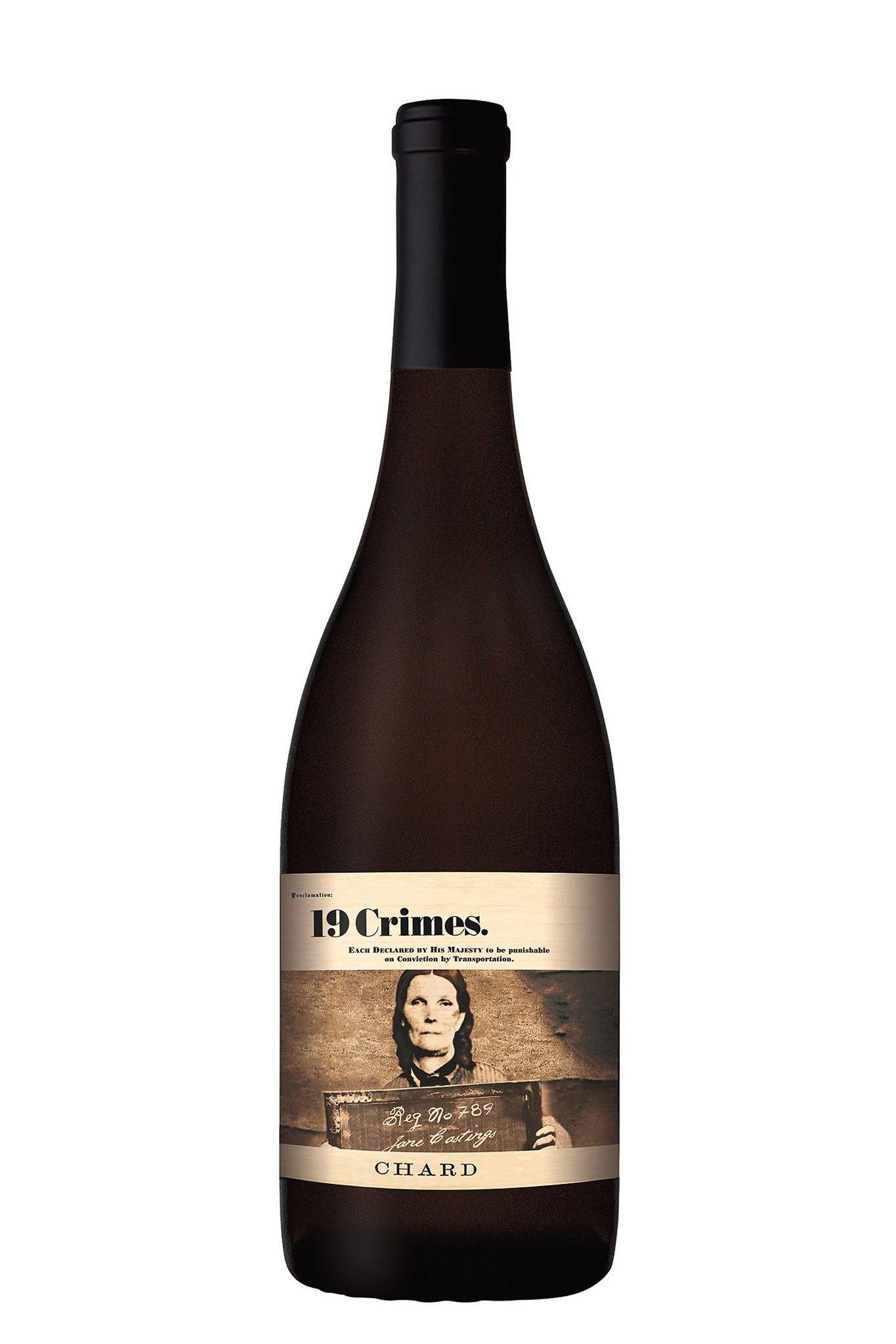 19 Crimes CHARD Chardonnay 2020 • Weisswein • Australien • Barossa Valley • 750 ml