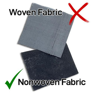 Woven and Nonwoven Geotextile Fabric