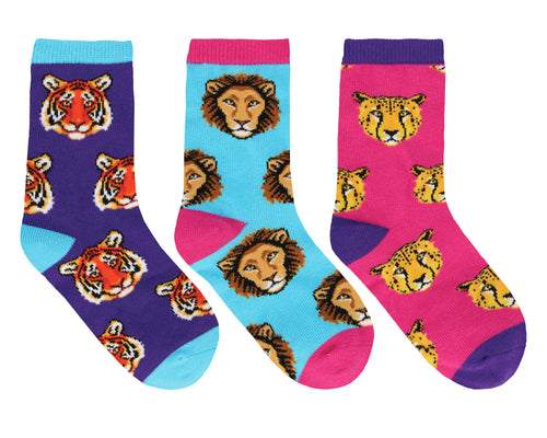 Kid's Wild Child 3-Pack Socks