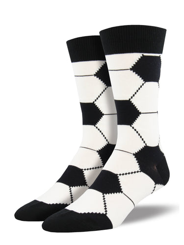 Men's Goal! Socks - White