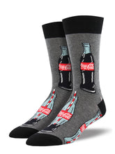 Men's Good To The Last Drop Socks - Charcoal