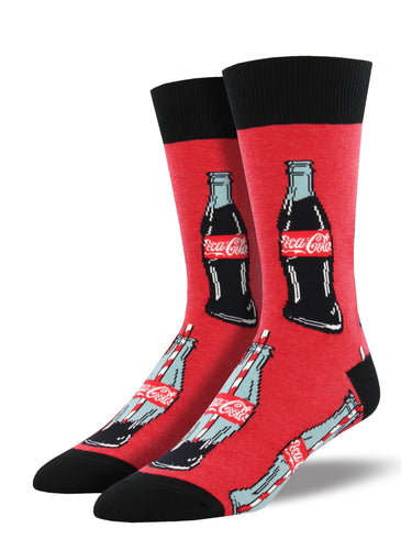 Men's Good To The Last Drop Socks - Red