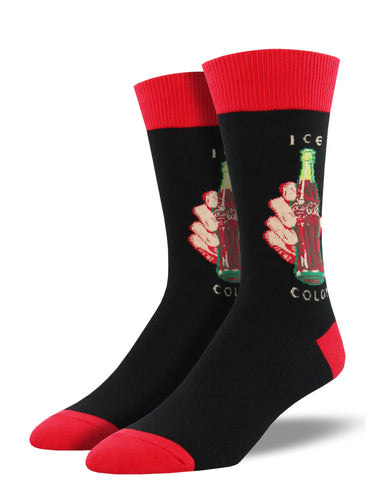 Men's Ice Cold Socks - Black