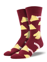 Men's Getting Lucky Socks - Red