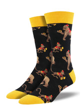 Men's This Band Is Bananas Socks - Black
