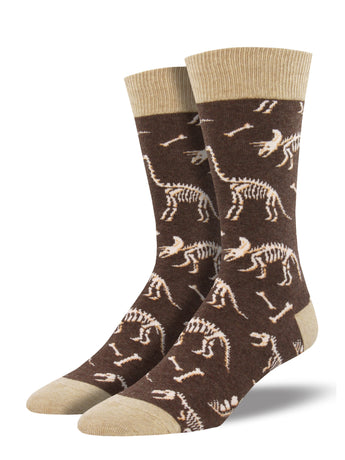 Men's Can You Dig It Socks - Brown