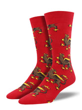 Men's Griffin Socks - Red