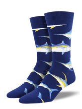 Men's Just For Sport Socks - Navy