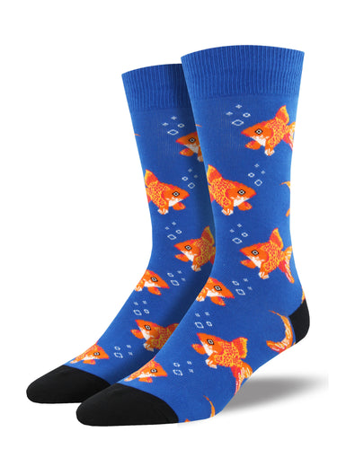Men's Sofishticated Socks - Blue