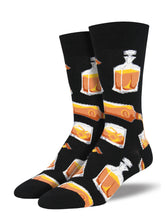 Men's Rocks Or Neat Socks - Black