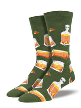 Men's Rocks Or Neat Socks - Green