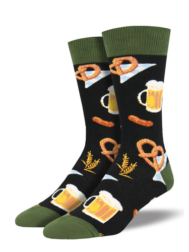 Men's Oktoberfest Socks - Black
