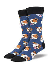 Men's Incredibull Socks - Blue