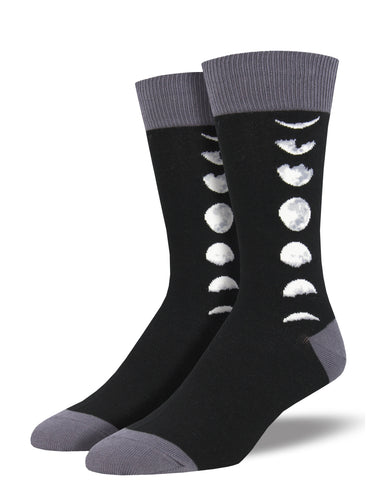 Men's Just A Phase Socks - Black