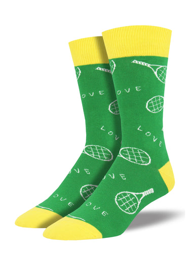 Men's 40 Love Socks - Green