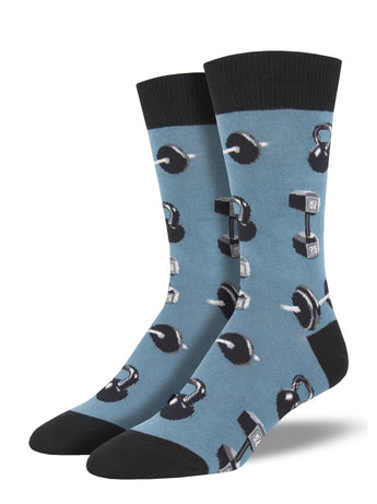 Men's Do You Even Lift, Bro? Socks - BLue