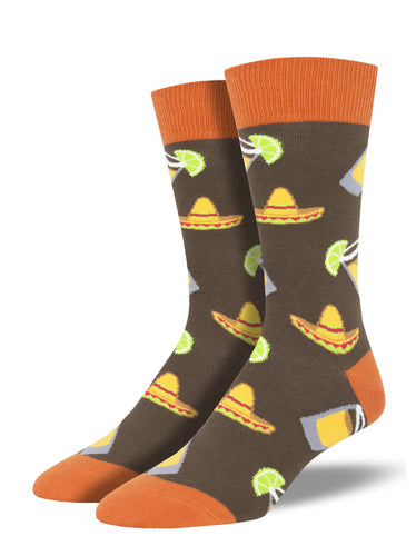 Men's Fiesta Friday Socks - Brown