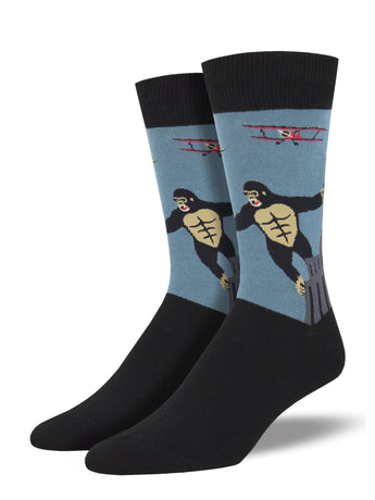 Men's King Kong Socks - Blue