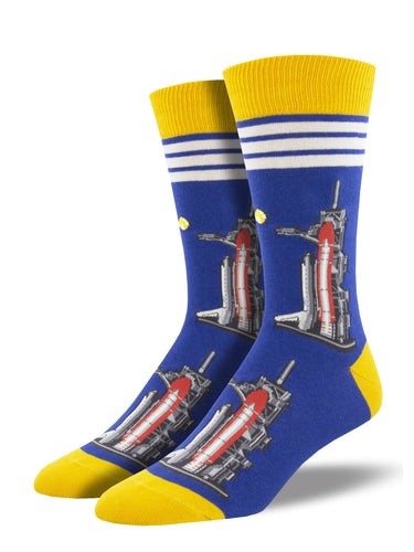 Men's Full Moon Launch Socks -Navy