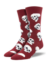 Men's Sacred Skulls Socks - Red