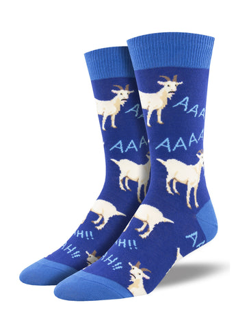 Men's Screaming Goats Socks - Blue