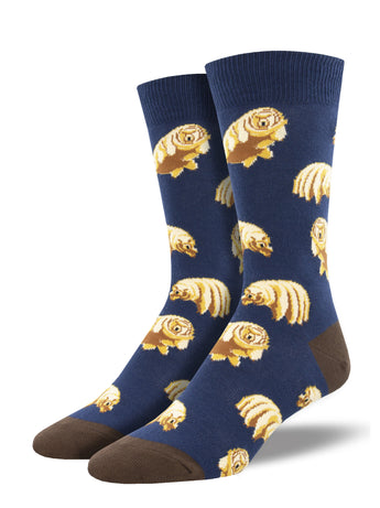 Men's Tardigrades Socks - Navy