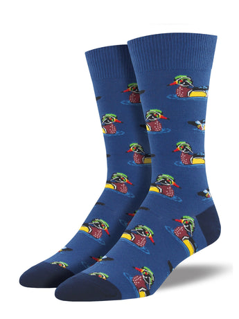 Men's Duck Socks - Navy