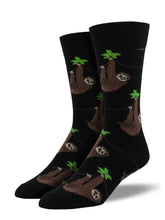 Men's Sloth Socks - Black