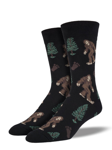 Men's Bigfoot Socks - Black