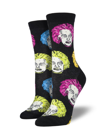 Women's Einstein Socks - Multi