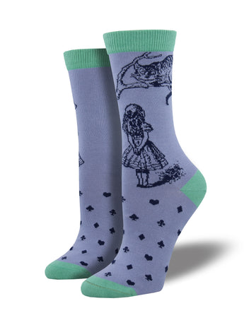 Bamboo Cheshire Cat Socks