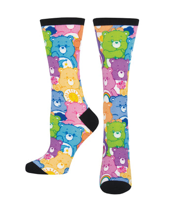 Women's 3D Care Bear Stare Socks - Multi