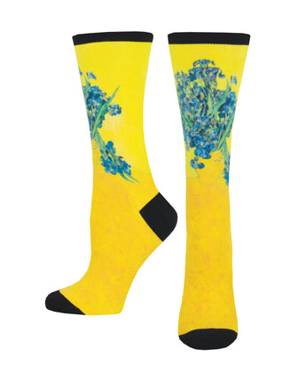 Women's 3D Irises Socks - Multi