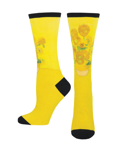 Women's 3D Sunflowers Socks - Multi