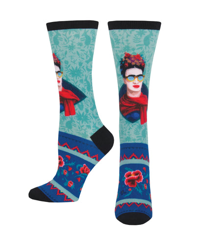 Women's 3D Rad Frida Socks - Multi