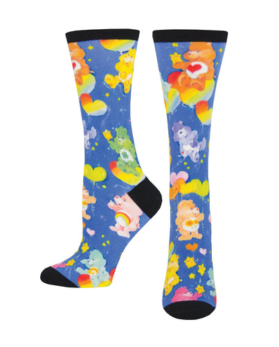 Women's 3D Classic Care Bear Socks - Multi