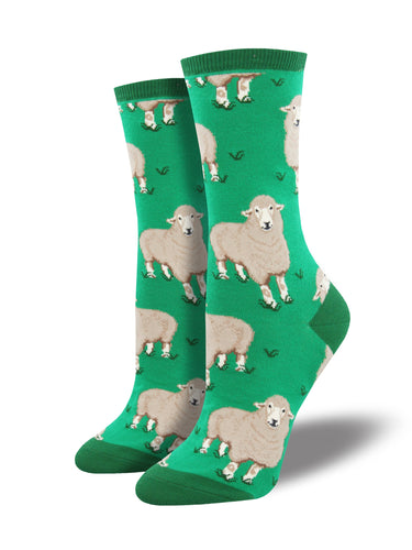 Women's Wool Be Friends Socks - Green