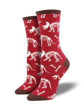 Women's Can You Dig It Socks - Red