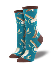 Women's Wise And Shine Socks - Blue
