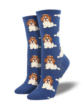 Women's I Shih Tzu Not Socks - Blue