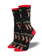 Women's Stockings Socks - Black