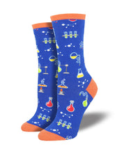 Women's All The Solutions Socks - Blue