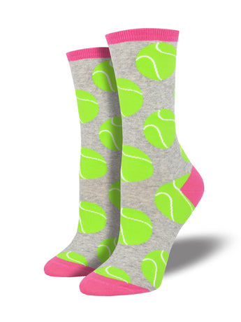 Women's Set Point Socks - Heather Grey