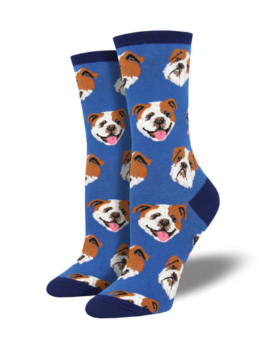 Women's Incredibull Socks - Blue