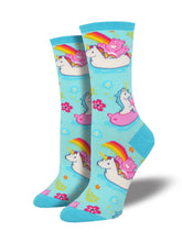 Women's Believe Socks - Blue