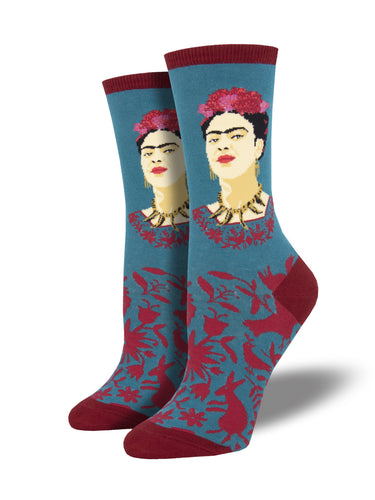 Women's Fearless Frida Socks - Teal