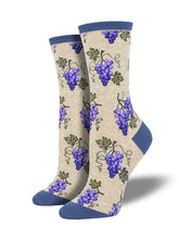 Women's One Fine Vine Socks -Hemp