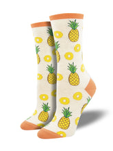 Partial To Pineapples Socks
